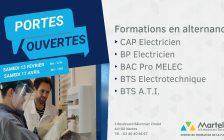 Journées Portes Ouvertes (JPO) 2021 du CFA Martello